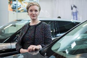 Riaditeľka ľudských zdrojov Jaguar Land Rover Slovensko Nicci Cook.