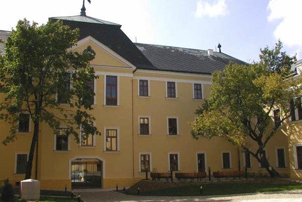 Budova Nitrianskej galérie.