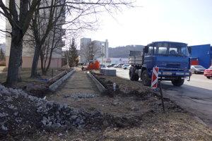 Tulská ulica vo Zvolene.