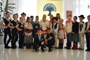Malí školáci sa prezentovali spevom, tancom či recitáciou.