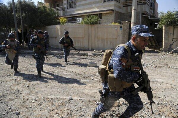 Irackí vojaci.