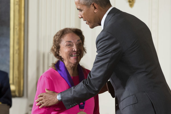 Miriam Colonovej udelil Barack Obama ocenenie National Medal of Arts.