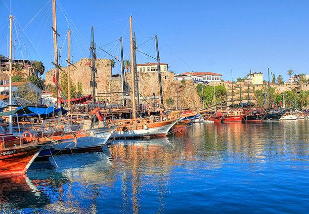 Prístav v Antalyi.