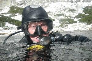 Potápač.
