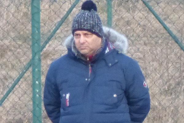 Tréner TJ Iskra Holíč Vlado Včelka