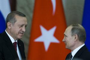 Putin sa stretol s Erdoganom.