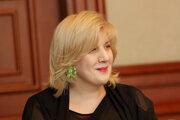 Dunja Mijatovičová, bývalá predstaviteľka OBSE pre slobodu médií.