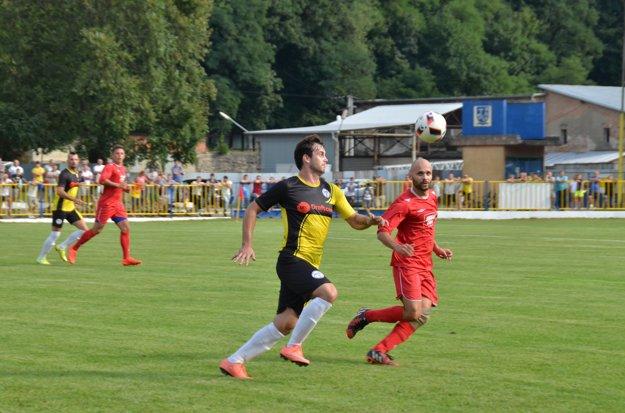 Najlepší strelec FK Krh. Podhradie Radoslav Kuzma.