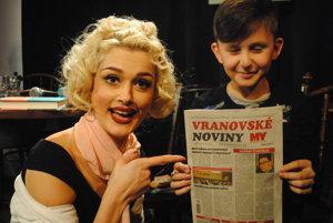 Katka Kamencová a Matúš Bačišin z filmu Piata loď.