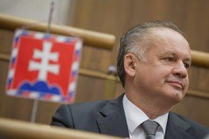 Prezident Andrej Kiska  predniesol poslancom správu o stave republiky.