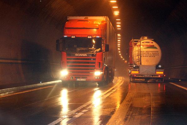 Horelický tunel funguje od októbra 2004.