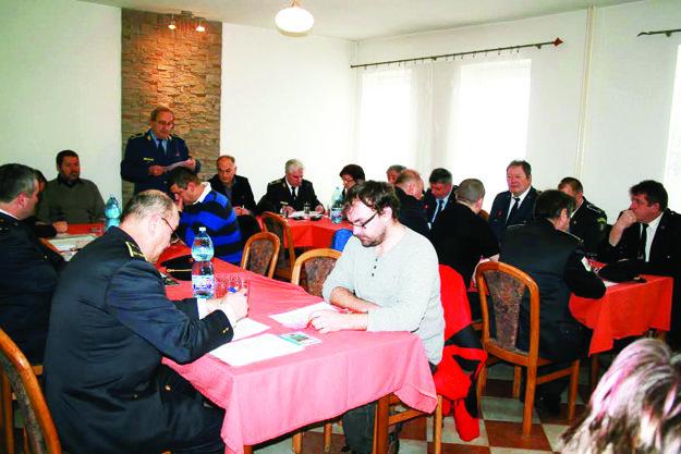 Z rokovania dobrovoľných hašičov okresu Kysucké Nové Mesto.