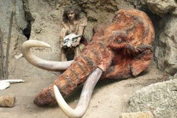 Múzeum praveku vsadilo na expozíciu o živote neandertálca.