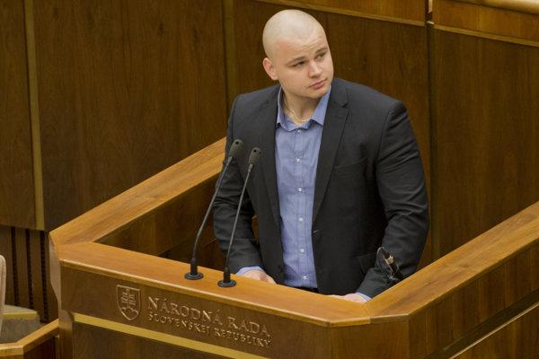 Poslanec ĽSNS Milan Mazurek