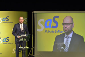 Predseda SaS Richard Sulík.