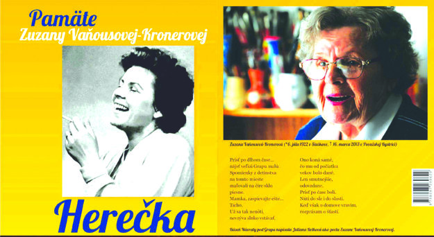 Knihu slávnostne uvedú do života  Zuzka a Janko Kronerovci v nedeľu 26.marca o 15.hodine v KD v Staškove.
