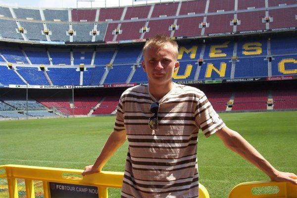 Pavol Zajaček navštívil aj slávny Nou Camp v Barcelone počas turnaja Copa Catalunya.