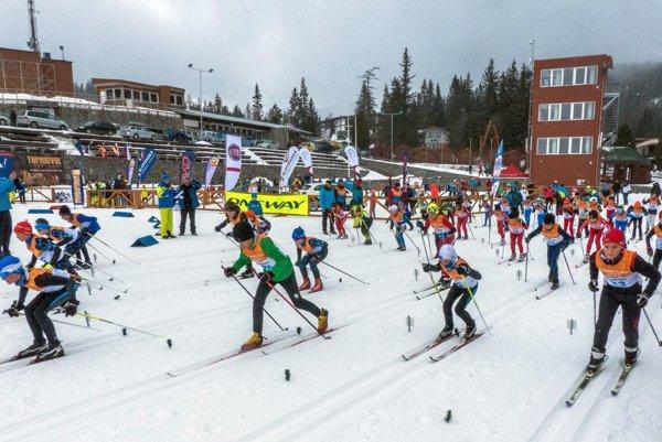 Majstrovstvá Slovenska v behu na lyžiach. Budú opäť na Štrbskom Plese.