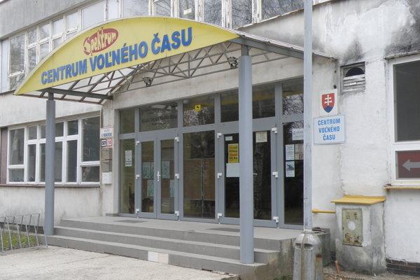 Centrum voľného času Spektrum v Prievidzi.