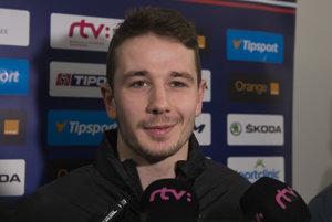Stanislav Horanský bol prvý raz na reprezentačnom zraze A-tímu.