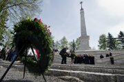 Na Háji sa nachádza najväčší cintorín padlých vojakov československého armádneho zboru.