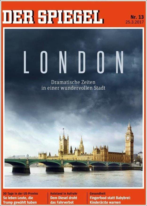 Dramatické časy v krásnom meste. Nemecký magazín Der Spiegel píše o brexite aj terore v Londýne.