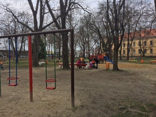 Vynovený detský park