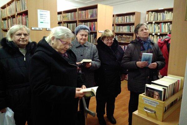 Navštívili knižnicu.