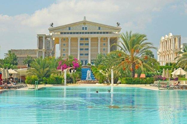 Hotel Kaya Artemis 5*, severný Cyprus, Bafra.