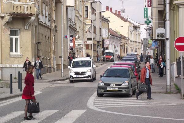 Farská ulica v Nitre.