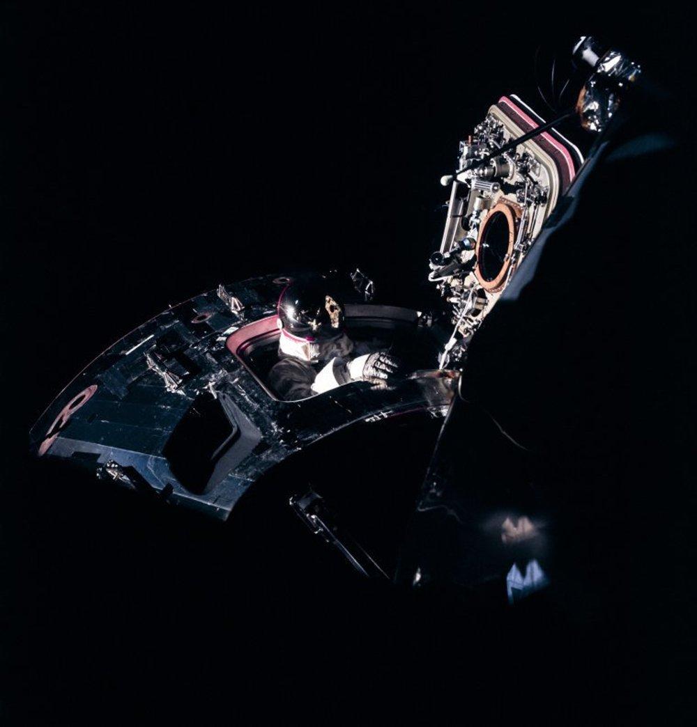 Dave Scott počas misie Apollo 9.