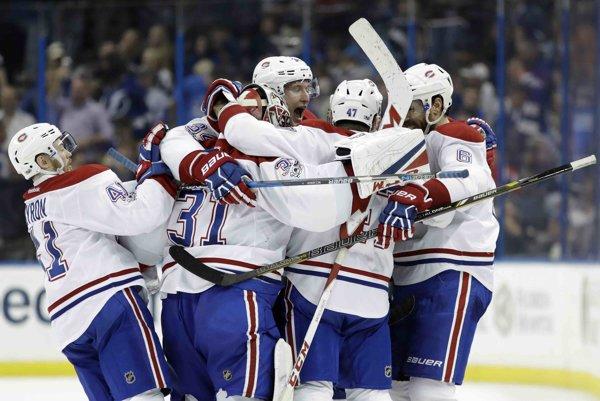 Montreal sa tešil z víťazstva nad Tampou.