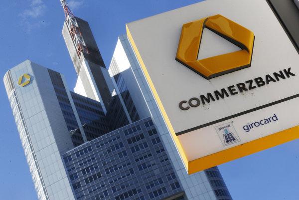 Commerzbank vo Frankfurte.