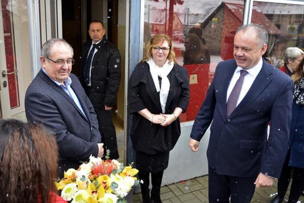 Prezident v piatok navštívil Kežmarok