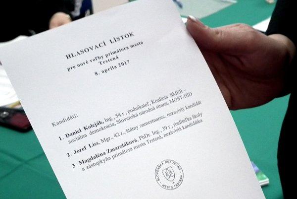 Nové voľby na uvolnenú funkciu primátora mesta v Trstenej.