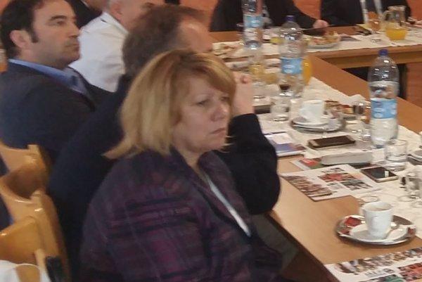 Mária Ondreková sa ako nová riaditeľka Agentúry Sever predstavila hornooravským starostom na zasadnutí Združenia miest a obcí Horná Orava.
