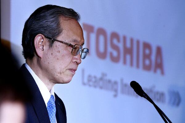 Satoshi Tsunakawa, šéf Toshiba.