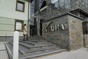 Prešovské sídlo Dúhy. Tu sa uskutočnili valné zhromaždenia.
