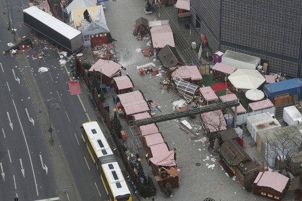 Anis Amri zaútočil kamiónom na vianočný trh v Berlíne.