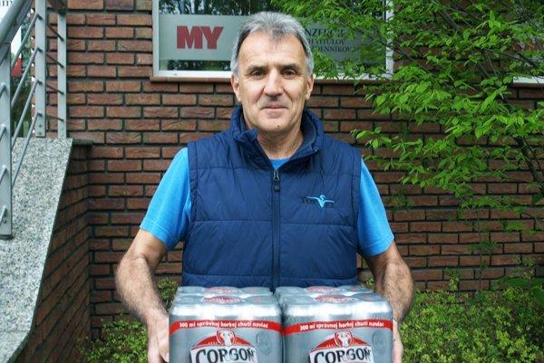 Vo 4. kole vyhral kartón piva Corgoň Imrich Hrdlica z Bábu.