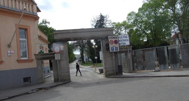 Aktuálny stav - pohľad od Špitálskej ulice.