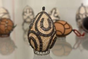 Kovaná kraslica patrí medzi zaujímavé exponáty.