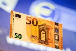 Nová 50-eurová bankovka.