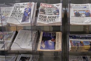 Titulky britských novín deň po tom, ako Británia 29. marca oficiálne spustila brexit.