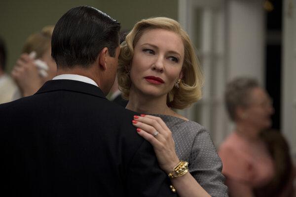 Cate Blanchet v dráme Carol