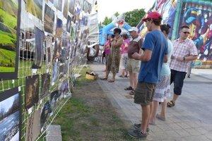 Letný fotofest na martinskej pešej zóne.