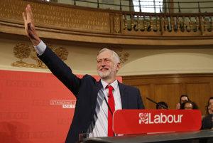 Líder britských labouristov Jeremy Corbyn.