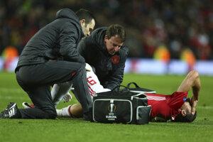 Zranenie Zlatana Ibrahimoviča je vážne.