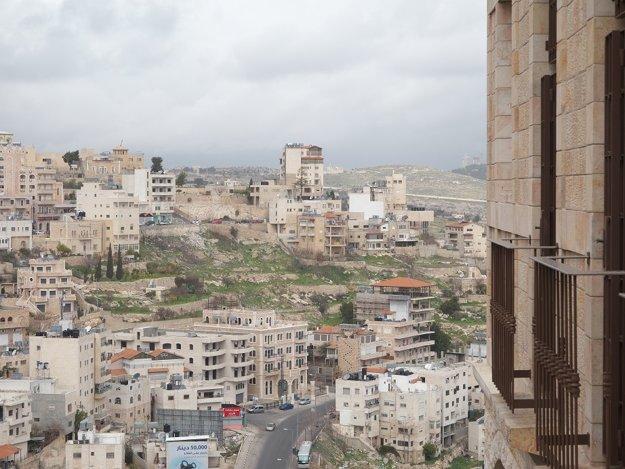 Palestínske sídlisko v Betleheme