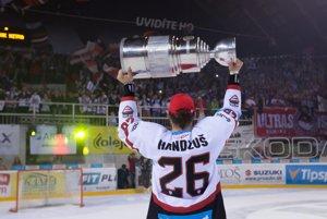Michal Handzuš sa dočkal aj slovenského titulu.